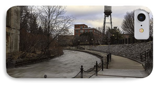 Syracuse Creekwalk IPhone Case by Everet Regal