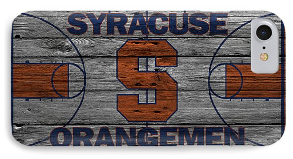 Syracuse Orangemen IPhone Case by Joe Hamilton