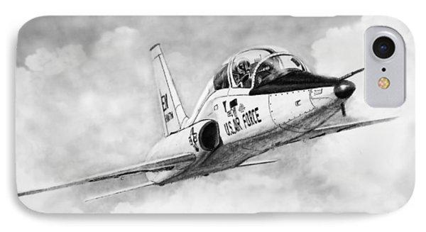 T-38 Talon IPhone Case by Douglas Castleman