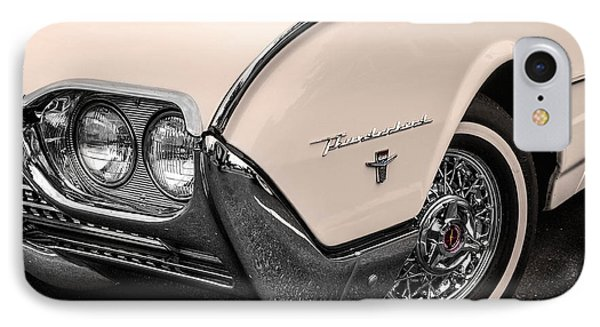 T-bird Fender IPhone Case by Jerry Fornarotto