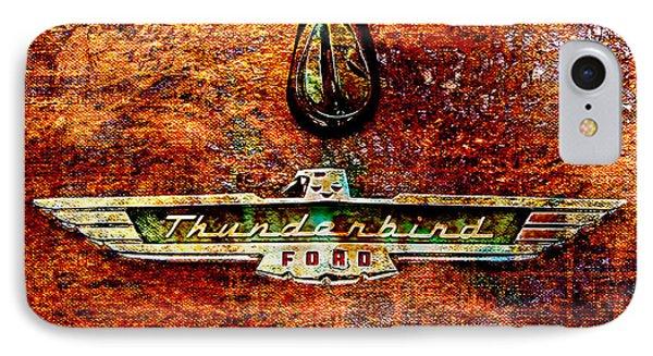 T-bird Grunge IPhone Case by Greg Sharpe