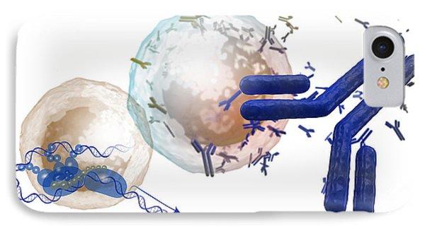 T-cell Transcription Factors, Vaccine IPhone Case