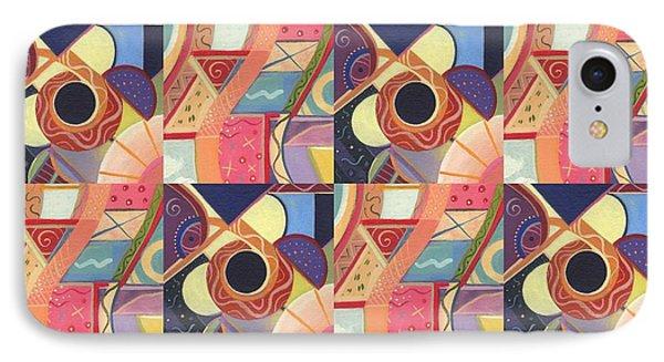 T J O D Tile Variations 19 IPhone Case