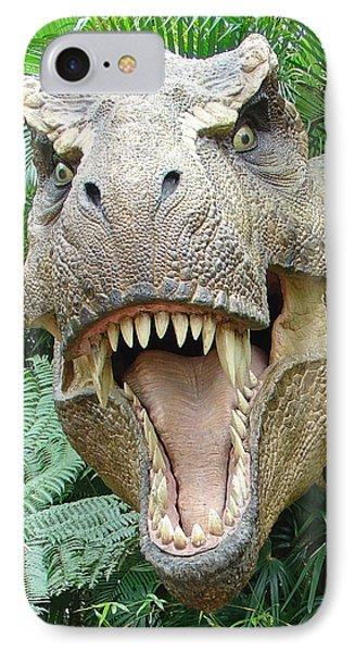 T-rex IPhone Case by David Nicholls