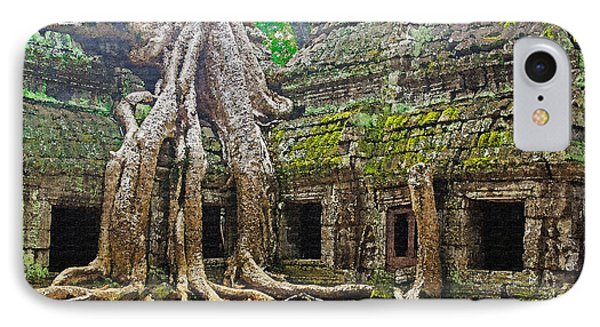 Ta Prohm Temple Ruins Phone Case by Dennis Cox WorldViews