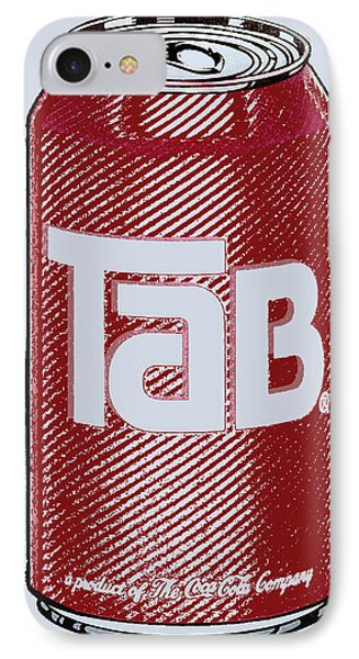 Tab Ode To Andy Warhol Phone Case by Tony Rubino