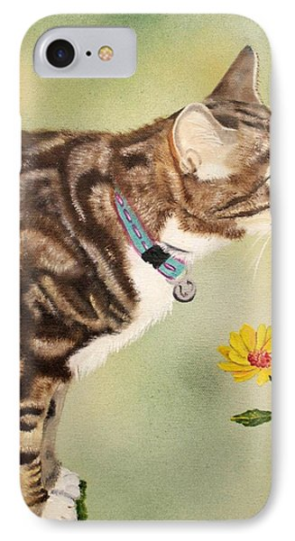 Tabby Phone Case by Debbie LaFrance