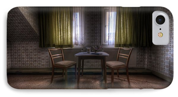 Table For Two IPhone Case by Nathan Wright