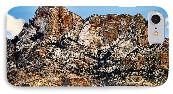 IPhone Case featuring the photograph Table Mountain In Winter 42 by Mark Myhaver