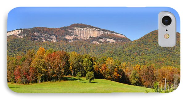 Table Rock In Autumn IPhone Case by Lydia Holly