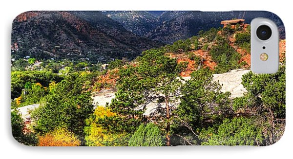 Table Rock To Pike's Peak IPhone Case by Lanita Williams