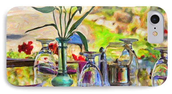 Table Setting Reflections IPhone Case by Jack Schultz