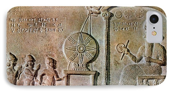 Tablet Of Shamash, 9th Century Bc IPhone Case