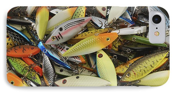 Tackle Box Tangle Phone Case by Jerry McElroy