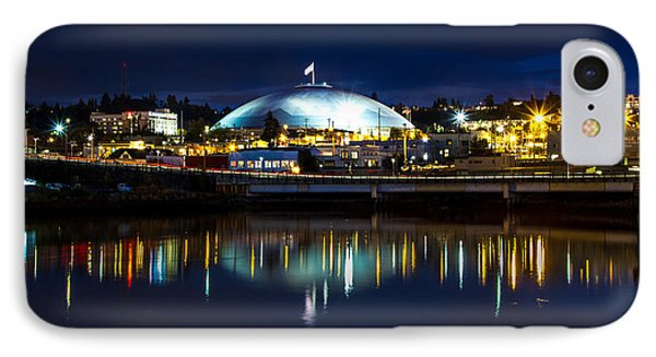 Tacoma Dome Reflections IPhone Case by Rob Green