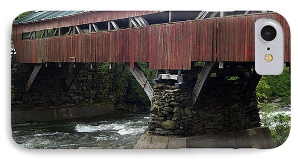 Taftsville Covered Bridge IPhone Case by John Greco