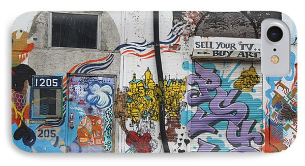 Tagging North Philly IPhone Case by Christopher Woods
