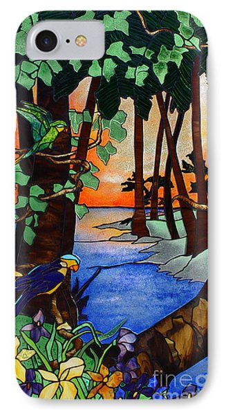 Tahiti Window Phone Case by Peter Piatt