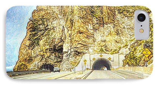 Tahoe Cave Rock IPhone Case