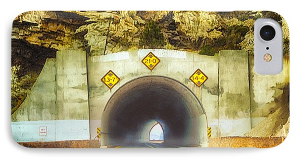 Tahoe Cave Rock Tunnel IPhone Case