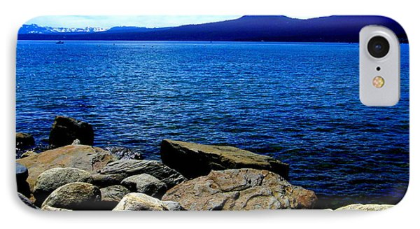IPhone Case featuring the photograph Tahoe Magic by Bobbee Rickard