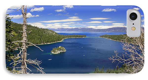 Tahoe's Emerald Bay IPhone Case by Patrick Witz