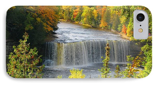 Tahquamenon Falls In October IPhone Case