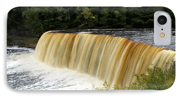 Tahquamenon Falls IPhone Case by Jill Laudenslager