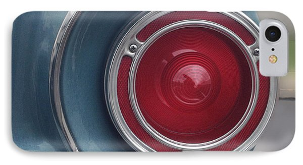 Tail Light Ford Falcon 1961 IPhone Case by Don Spenner