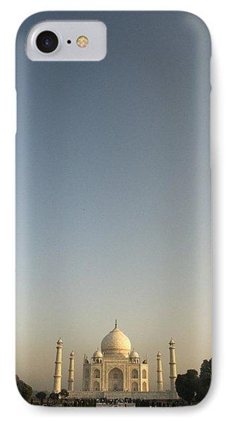Taj And Morning Sky IPhone Case by Rajiv Chopra