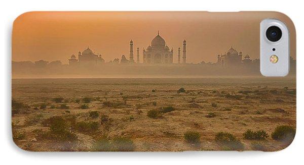 Taj Mahal At Dusk IPhone Case