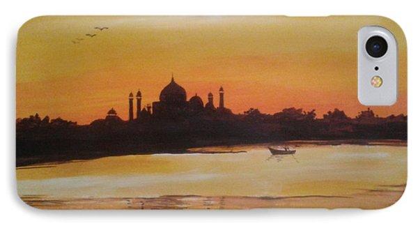 taj Mahal in the morning IPhone Case by Sanjay Punekar