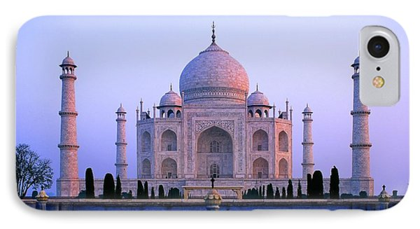 Taj Mahal, India IPhone Case by Indian School