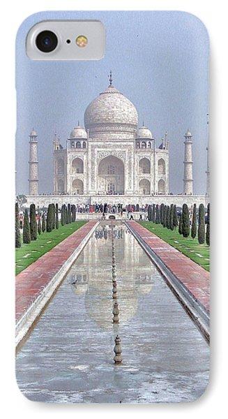 Taj Mahal Phone Case by Kim Bemis