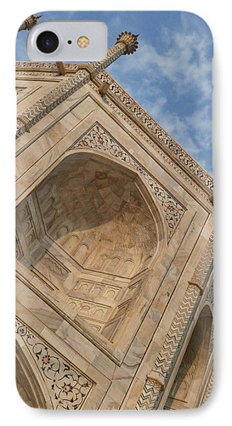 IPhone Case featuring the photograph Taj Mahal - Workmanship by Kim Andelkovic