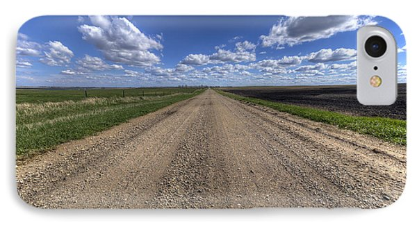 Take A Back Road IPhone Case by Aaron J Groen
