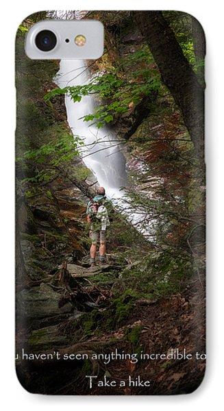 Take A Hike Phone Case by Bill Wakeley
