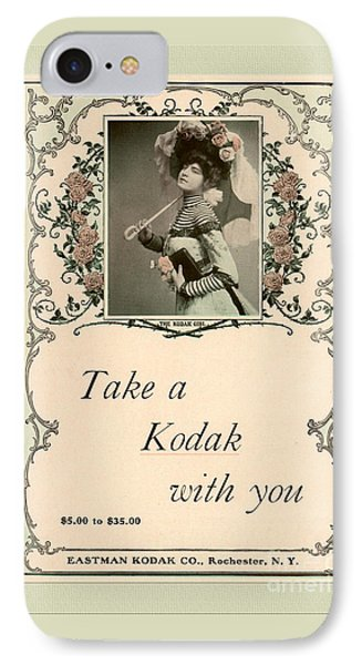 Take A Kodak With You Phone Case by Anne Kitzman