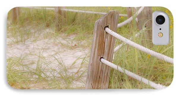 Take The Gentle Path IPhone Case by Kim Hojnacki