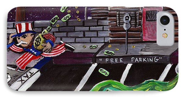 Take The Money And Run  IPhone Case by Corey Holland