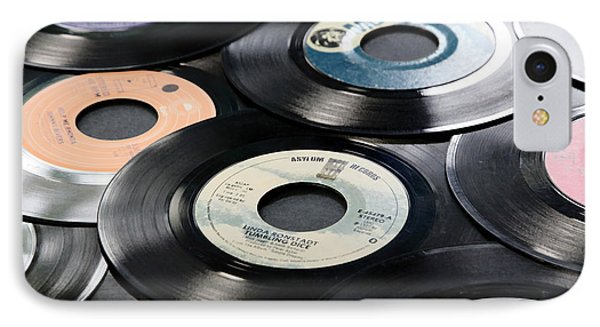 Take Those Old Records Off The Shelf IPhone Case by Athena Mckinzie