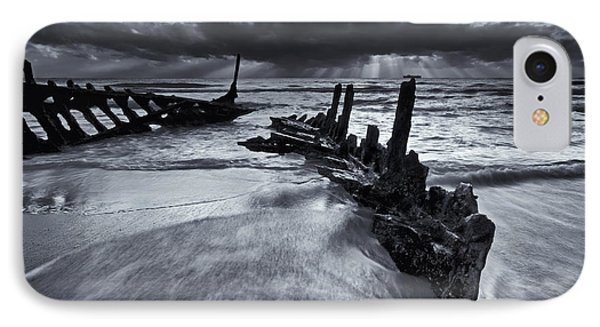 Taken By The Sea Phone Case by Mike  Dawson