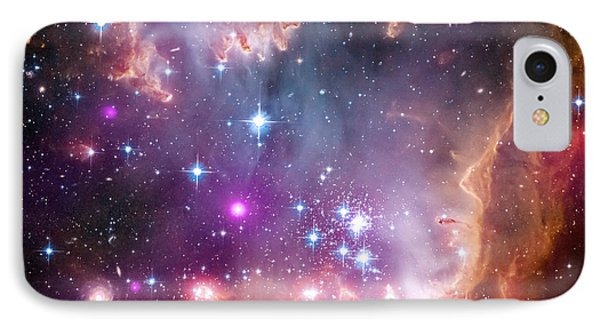IPhone Case featuring the  Taken Under The Wing Of The Small Magellanic Cloud by Paul Fearn