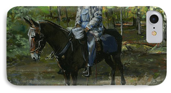 Tennessee Man On Mule IPhone Case