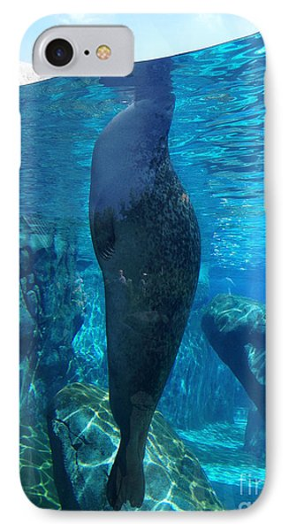 Taking A Peek IPhone Case by Luther Fine Art