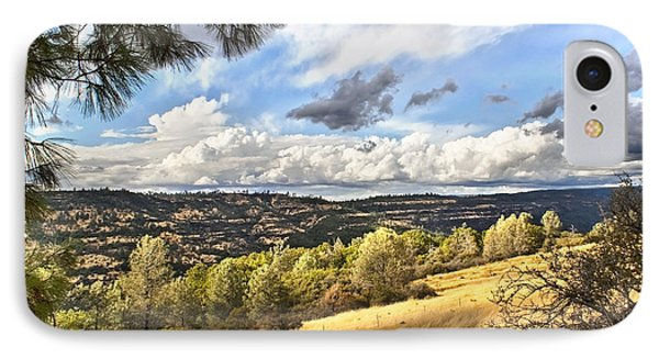 Taking A Ride Up Highway 32 IPhone Case