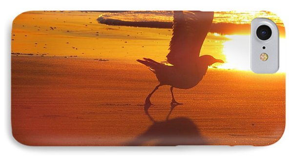 IPhone Case featuring the photograph Taking Flight by Nikki McInnes
