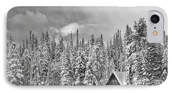 Taking Refuge - Grand Teton Phone Case by Sandra Bronstein