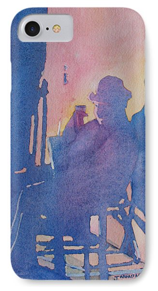 Taking Ten With My Shadow Phone Case by Jenny Armitage