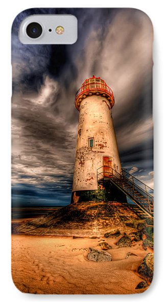 Talacre Lighthouse IPhone Case by Adrian Evans